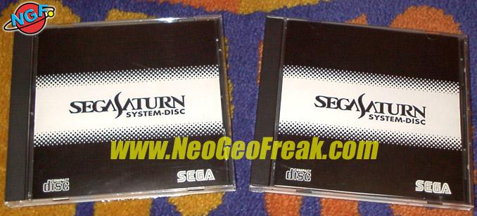 Disco Boot Saturn - Sega Saturn System-Disc (KD01)(KD02) Sssd1